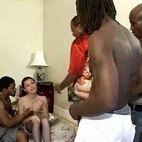Interracial Gangbang Movies