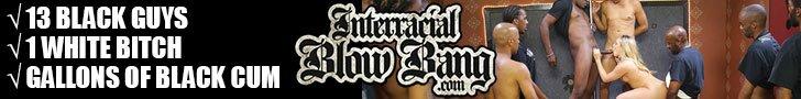 Interracial Blow Bang